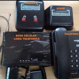 Técnico para cabinas telefónicas.