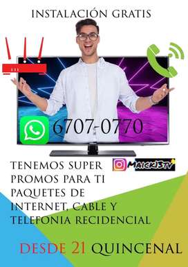 Internet,Cable,Telfonia Residencial