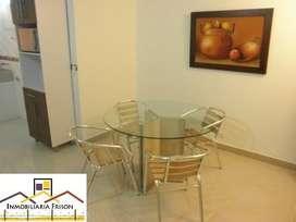 Renta Apartamento Amoblado en el Poblado Cód. 6170**