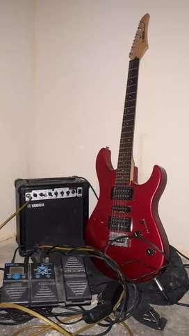 Guitarra electrica yamaha erg 121