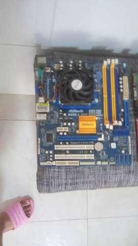 combo board y procesador  DDR3 garantizada