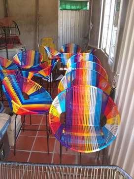 Fabrica de muebles, juegos de sillas, mecedoras, comedores y más.