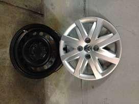 4 Llantas y Tasas VW Gol Trend 2012