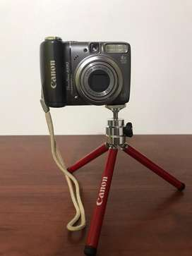 Camaras Canon PowerShot A590is y A4000is HD