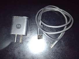 Cargador Motorola original tipo C