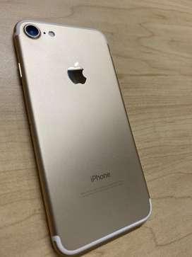 iPhone 7 Gold - 32Gb -10/10