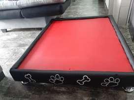 Cama para perro, material antifluidos, fácil de limpiar, medias 80x100, totalmente nueva, súper comoda