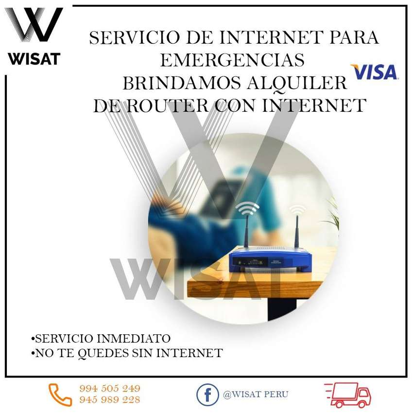Servicio de Internet para emergencias 0