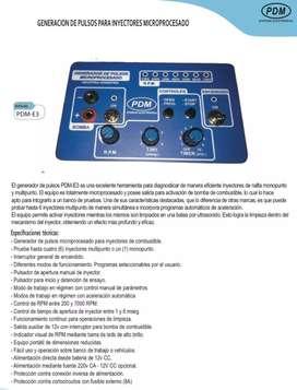 Generador de pulso para inyectores