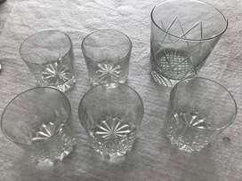 juego de whisky con hielera