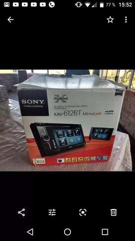 Stereo Sony Xav-612BT