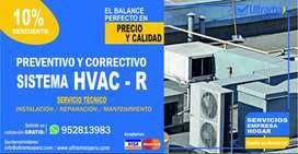 MANTENIMIENTO PREVENTIVO Y CORRECTIVO DE HVAC AREQUIPA