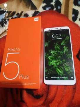 Se vende Redmi 5 plus  4DE Ram 64 INTERNAS