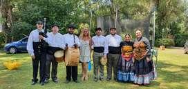Show de gaitas y danzas gallegas en vivo