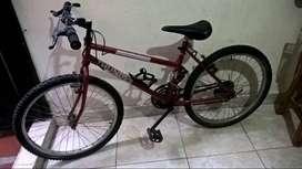 Bicicleta todoterreno para jovenes