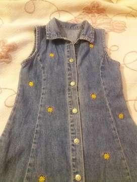 Vestido de Jeans para Niña Nuevo