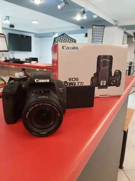 Canon Rosa Revel T7i Camara 24mplx full HDWiFi Nfc