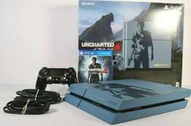 play station 4 500gb  edition uncharted