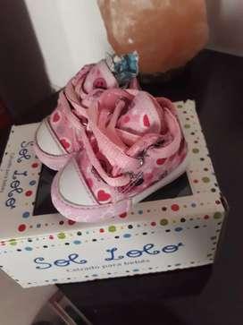 Zapatillas de bebé no caminante