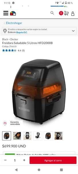 Vendo Air Fryer 5 LTS Black&Decker