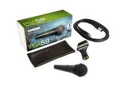 Microfono Shure Pga58-xlr profesional