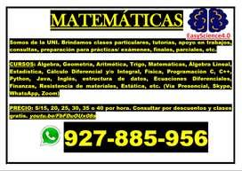 Profesor de Matemáticas Ciencias Programación