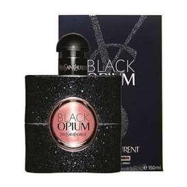Perfume Yves Saint Laurent Black Opium 150ml Mujer Eros