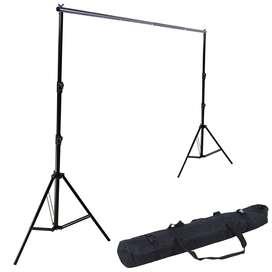 Porta Telon De 3 X 3 metros para Fotografia Video Con Estuche de lona