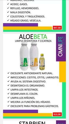 Aloebeta para gastritis