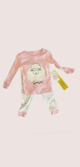 Pijama para niña Wonder Nation 12 meses