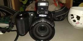 Cámara de foto Nikon l810