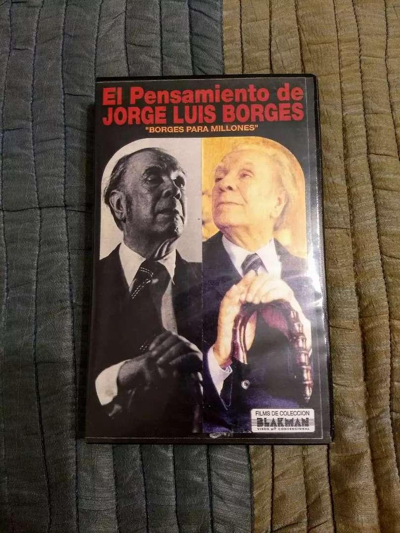 "VHS El Pensamiento de Jorge Luis Borges. ""Borges para millones"" 0"