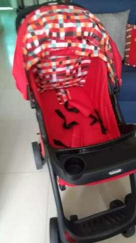 coche con silla nuevo