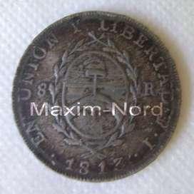 Medalla Moneda 8 Reales 1813 Centenario Conmemorativa / Maxim Nord