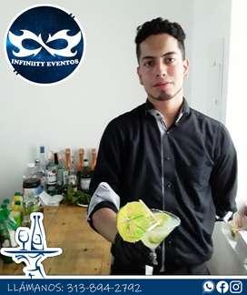 Servicio de MESEROS profesionales Bogota y al rededores para todo tipo de fiesta y evento que esperas alquiler de copas