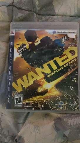 Wanted ps3 en español