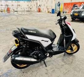 Vendo Yamaha BWS X Full Estado con Lujos bajo Klm