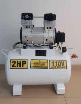 Compresor silencioso Thomas de 1hp y 2hp