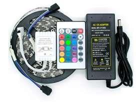 Kit Cinta Led Rgb 5050 5mts Completo