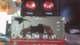 Un equipo de sonido mp3 USB Y SD MMC