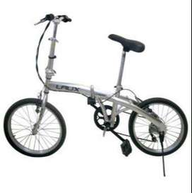 Vendo bici plegable LAUX