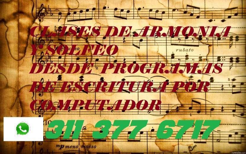 CLASES DE ARMONÍA Y SOLFEO POR SKYPE 0