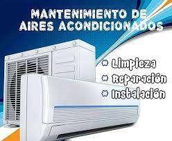 tecnico instalador de aires acondicionados.