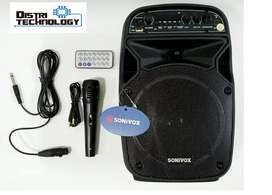 Cabina De Sonido Sonivox 6.5+ Micrófono