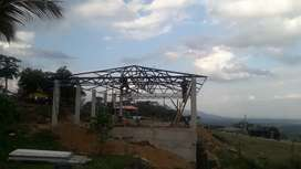 Fabricacion de estructuras y cubiertas