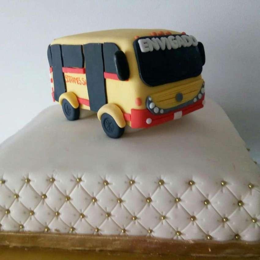Torta Autobus. Cumpleaños 0