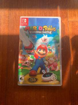 Se vende Mario+Rabbids Nintendo Switch