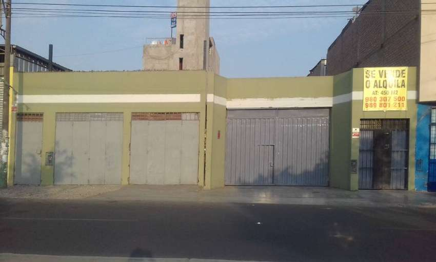 Alquiler Local s/9,000 soles Los Olivos Av. Universitaria  450 m2 0