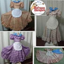 Vestido de Paisana para niña