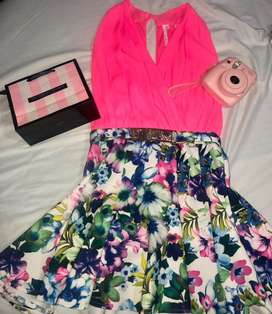 Vestido talla L vintage